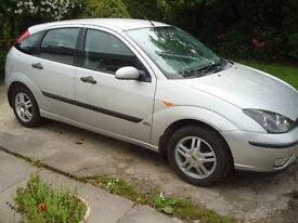 ford focus 1.6, 2004, mot till june 2018 with no advisories
