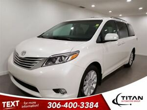2015 Toyota Sienna XLE Limited|7 Pass|AWD|Bluetooth|DVD