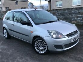 2007 Ford Fiesta 1.25 Style Low Miles Low Insurance Cheap Car not corsa Clio 500 Ka