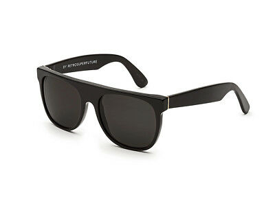 Sonnenbrille Retrosuperfuture Super Flat Top Black 557