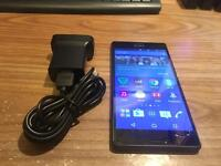 Xperia Z3 black 16GB on EE network very good condition with charger x