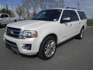 2016 Ford Expedition Max Platinum 4X4 NAV Sunroof Leather