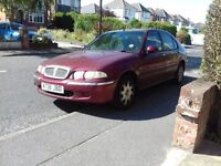 Rover 45 spares or repair