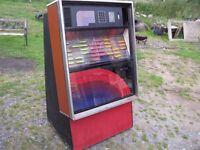 Vintage seburg jukebox