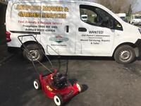 "Petrol Lawnmower - Champion Mower 3.5HP 18"""