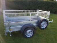 NEW Car trailers and mesh 6' x 4' 2,25 FIX PRICE £650 inc vat