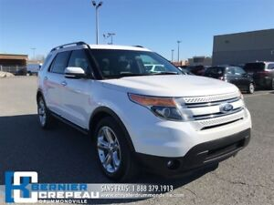 2014 Ford Explorer Limited **TOIT PANO, ENS. CHAUFFANT, GPS + WO