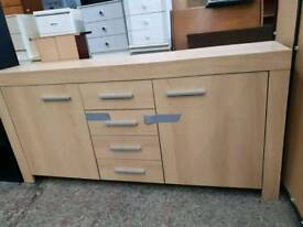 Light wood sideboard in excellent condition