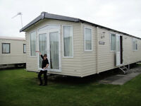 Swift Bordeaux Luxury caravan sleeps 8. Wide berth. Patio doors. Reduced price