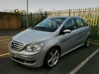 2006 MERCEDES B CLASS 200CDI AUTOMATIC..FULL LEATHER, SERVICE HISTORY..HPI CLEAR..LOVELY DRIVE