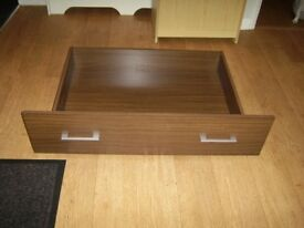 1pair brand new unopened under bed storage drawers will look like these when assembled