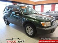 2002 Subaru Forester L, FULLY INSPECTED