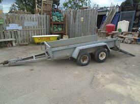 twinwheel plant trailer