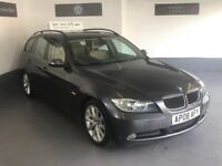 BMW 320d M-SPORT ESTATE/2008/COMES WITH A FULL MOT + 3 MONTHS WARRANTY