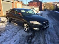 09 mondeo 1.8tdci 8 month mot 100k 18 inch alloys tinted windows really nice car £2300 or swapz