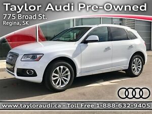 2015 Audi Q5 2.0T Progressiv, PANO ROOF, LOCAL LEASE!