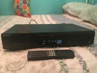 sony cd player and remote