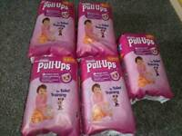 Huggies pull ups new size small
