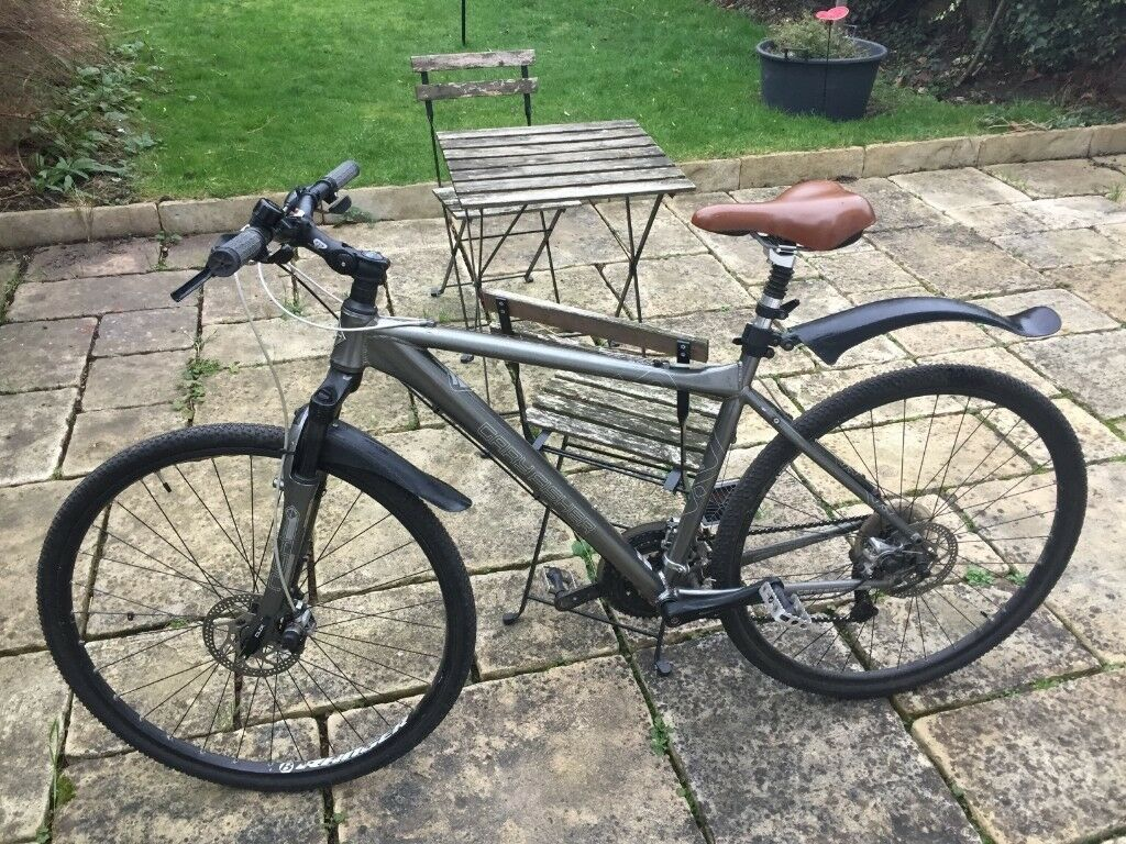 54708c1458a Gary Fisher Hybrid Bicycle - 21 Gears - Front + Seat Suspension + Optional  D-Lock + Cyclometer