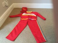 Lightning mcqueen dressing up outfit