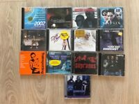 Movie soundtrack CDS various