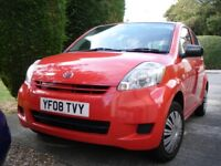Daihatsu Sirion 1.0S 2008 - MOT to March 2019, just been serviced