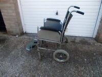 MOBILITY CHAIR ALL WORKS WELL FOLDS UP--£20