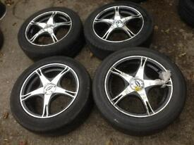 "16"" Team Dynamic Racing Alloys 5x100 5x112"