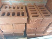 190-200 new red bricks