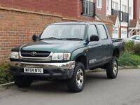 Toyota Hilux 280 EX Double Cab (2004/04 Reg) + Genuine 138k + Drives Lovely + 4X4 + No VAT +