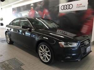 2014 Audi A4 2.0 8sp Tiptronic Progressiv