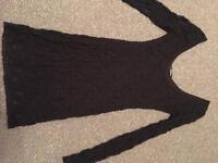 Jane Norman Black Lace Dress