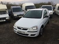 2006 Vauxhall corsa diesel van in vgcondition lovely economical van any trial welcome ready for work