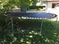 Large Trampoline 4 metres/13ft. Free to collect