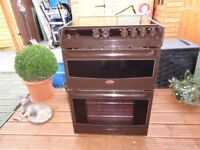 TRICITY BENDIX CERAMIC ELECTRIC COOKER 60 CM DOUBLE OVEN