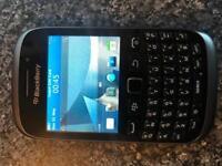 Blackberry curve smartphone unlocked any sim cheap