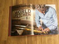 Gordon Ramsey's world kitchen book for sale