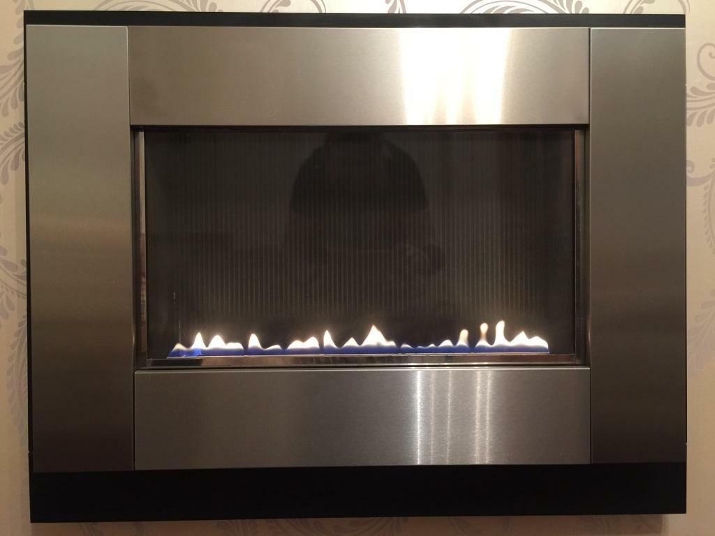 focal point flueless wall mounted gas fire plasma model in
