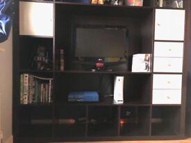 Large TV and Shelving Unit (IKEA)