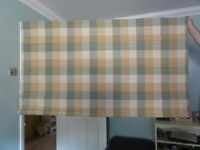 Bespoke Roman Blind, John Lewis material and fully lined