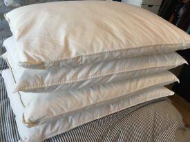 4x Ikea JORDROK duck down pillows
