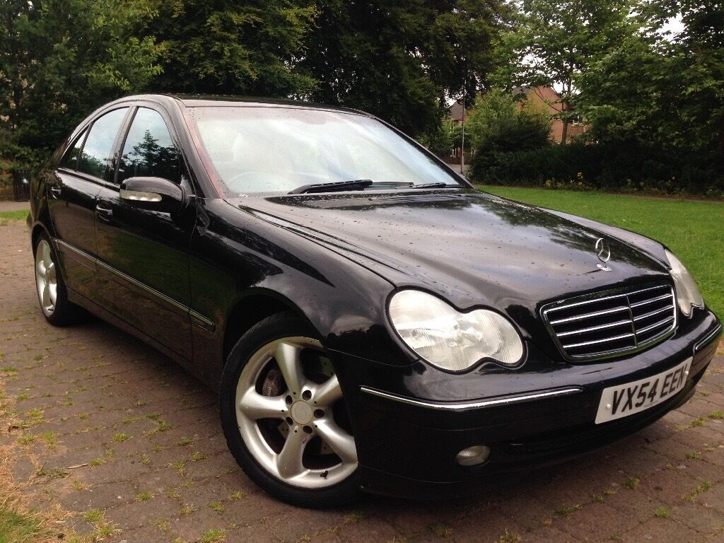 2004 mercedes benz c class facelift 1 8 c200 kompressor avantgarde automatic in leeds city. Black Bedroom Furniture Sets. Home Design Ideas