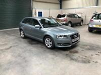 2012 Audi A3 1.6tdi se 1 owner excellent condition fsh full mot guaranteed cheapest in country