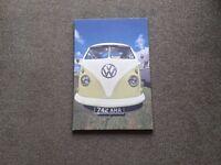 VW Campervan Canvas Picture.