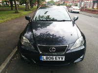 LEXUS IS 220D TOP OF THE RANGE SE-L MODEL SAT NAV 97K WITH FSH & 12 MTHS MOT