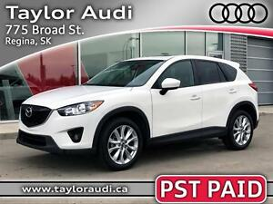 2015 Mazda CX-5 GT 1 OWNER, LOCAL TRADE, PST PAID,