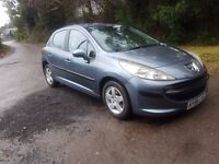 2006 peugeot 207 1.4 ideal small family car cheap on fuel tax and insurance mot until september 2017