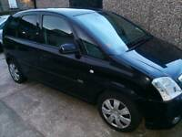 Vauxhall Meriva 2008 plate for spares or repair