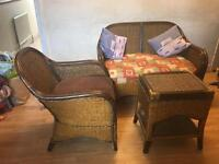 Timber wood sofa with tea table