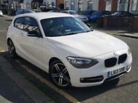 BMW 114i 1.6 PETROL WHITE MANUAL 90K MILES.